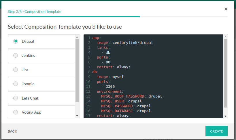 Create composition · Codefresh | Docs