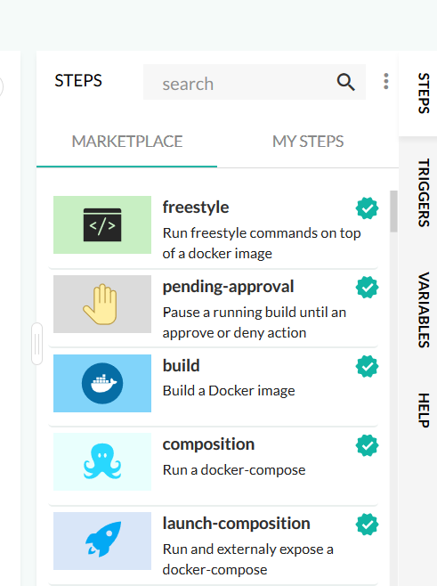 Steps · Codefresh | Docs