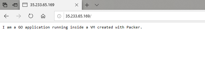 Accessing the VM application