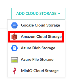 Amazon cloud storage