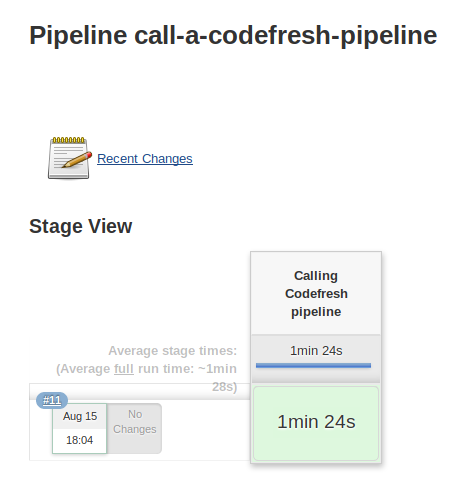 Calling a Codefresh pipeline in a Jenkins step