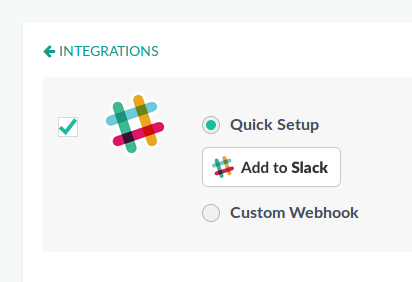 Add Slack integration