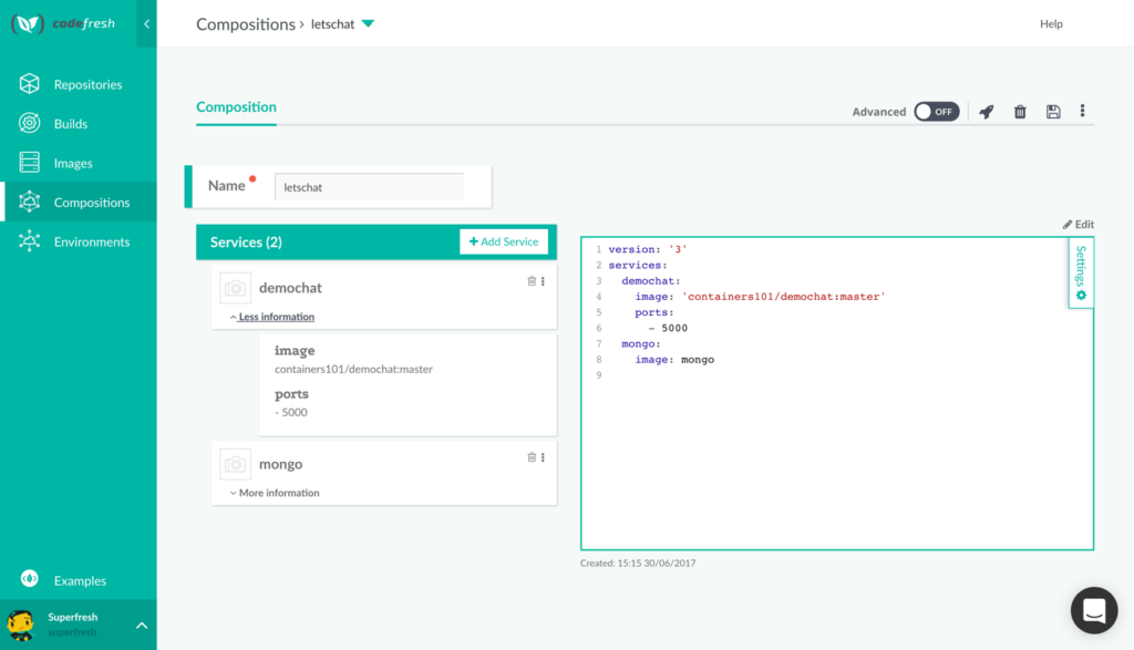 Continuous Integration with Docker Compose - Codefresh