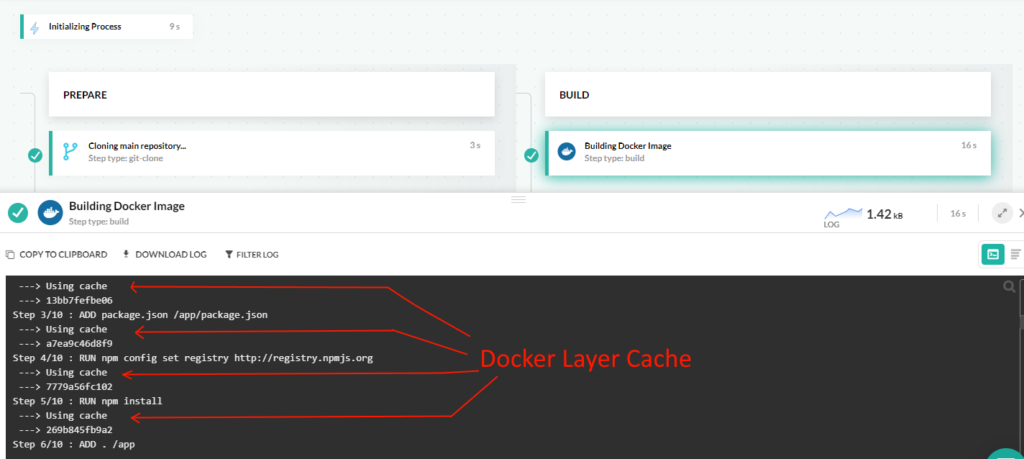 Docker cache in Codefresh