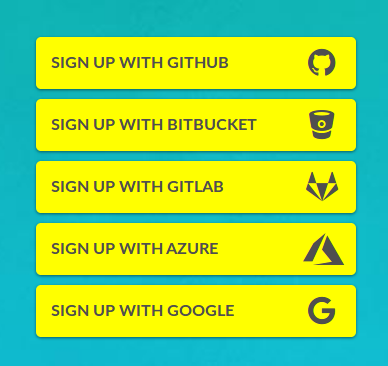 Codefresh adds Azure/Google signup support and multi-login