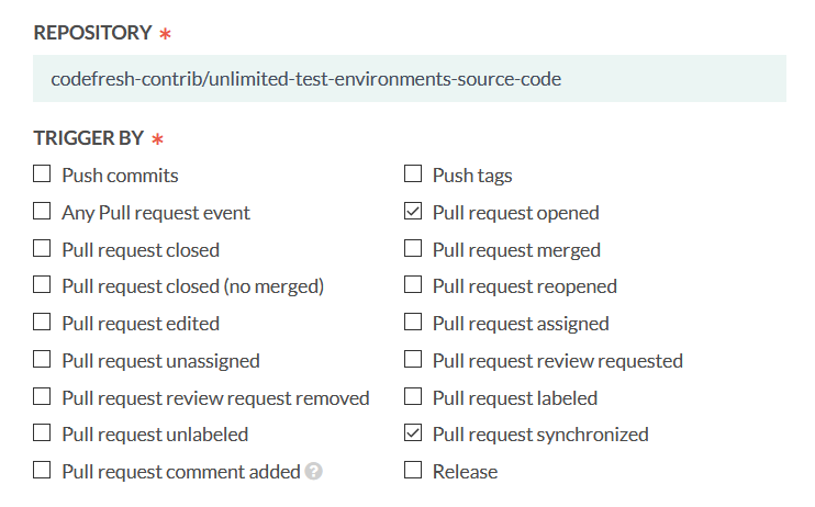 catch all pull request events